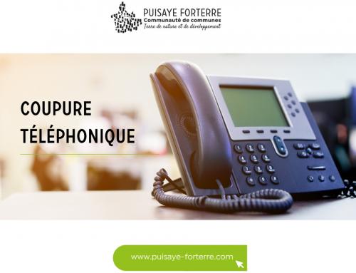Coupure téléphonique